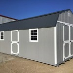 12x24 High Barn Style Wood Shed For Sale 28144 Northland Sheds