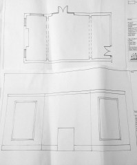 Diploma Assignment: Floor Plan and Elevation
