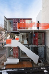 Stacked containers - http://pinterest.com/pin/73465037644093771/