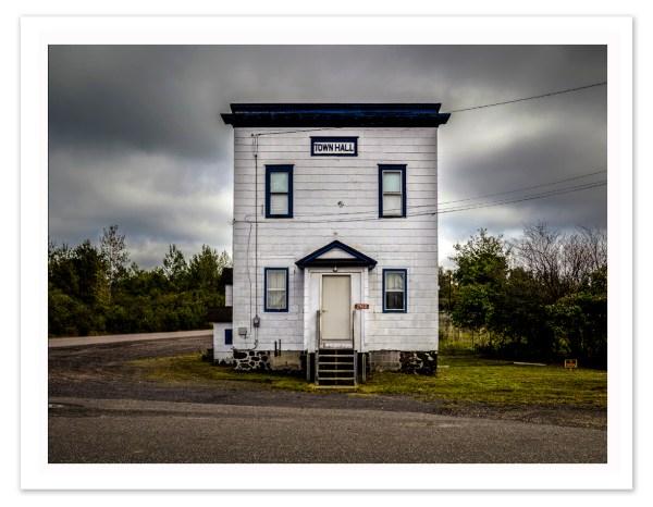 "Bill Schwab – ""Town Hall – Ahmeek, Michigan  2016"""