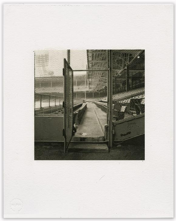 "Bill Schwab – ""Home Run Alley- Tiger Stadium, Detroit 1998"""