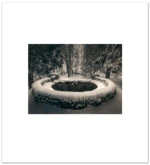 """Bill Schwab – """"Hidden Spring – Harbor Springs, Michigan 2021″(Larger Print)"""