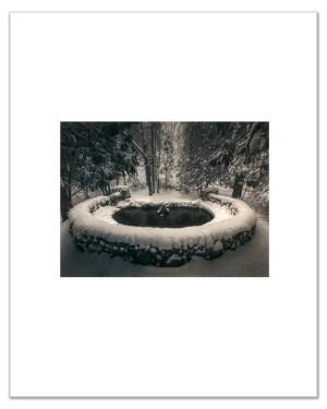 """Bill Schwab – """"Hidden Spring – Harbor Springs, Michigan 2021"""" (small print)"""