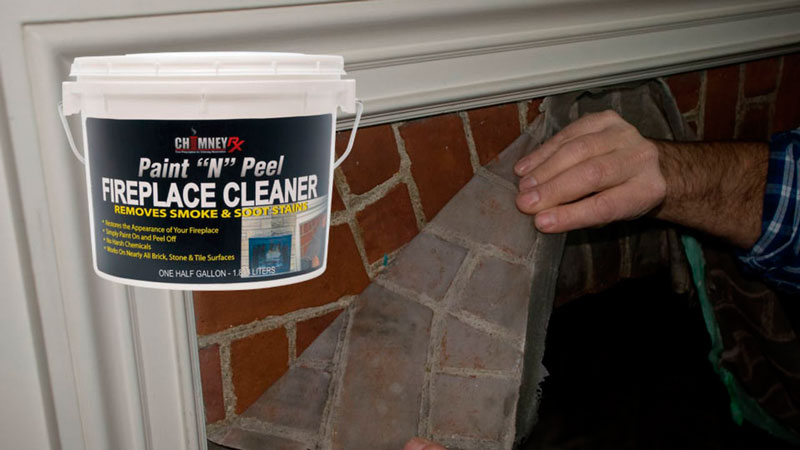 Chimney Rx Paint N Peel Fireplace