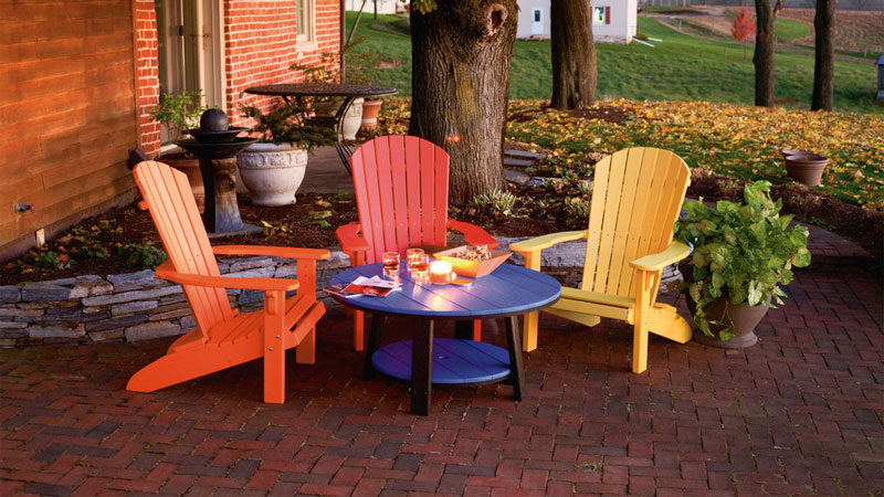 You Will Also Never Have To Waterproof, Paint, Or Stain Outdoor Poly Lumber  Furniture. The Only Real Maintenance Is Simple Cleaning With Water.