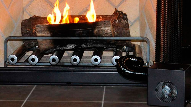 6 Tube Spitfire Fireplace Heater