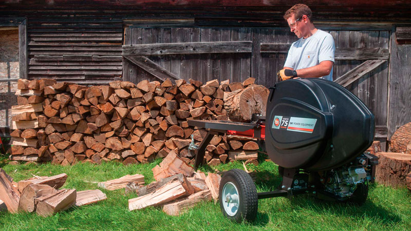 Follow these Helpful Tips for Stacking Firewood