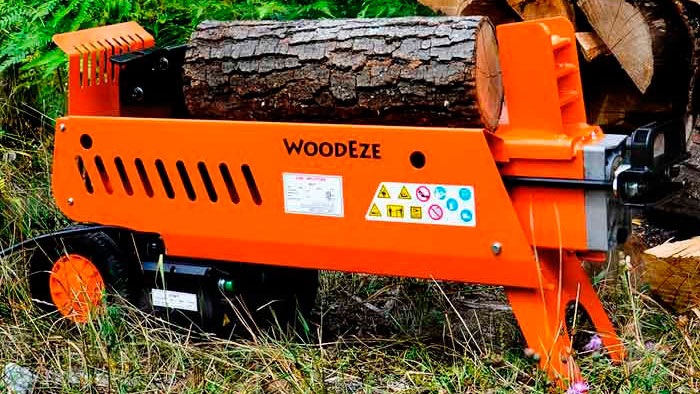 WoodEze 7-Ton Electric Log Splitter