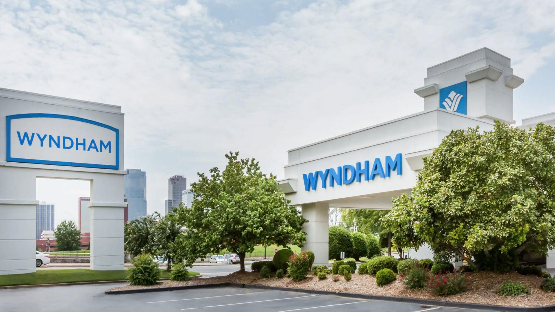 Image of Wyndham hotel in North Little Rock, Arkansas