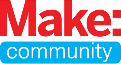 The logo for Make: Community