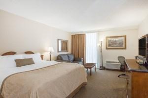 Wyndham Riverfront Little Rock Arkansas guest room