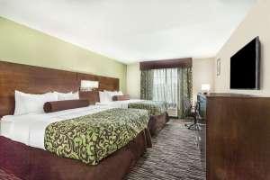 Baymont Inn and Suites North Little Rock Arkansas double