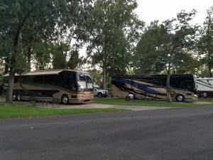 KOA Campground RVs North Little Rock Arkansas