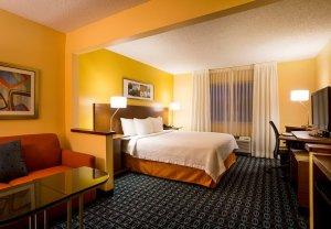 Fairfield Inn North Little Rock, Arkansas suite