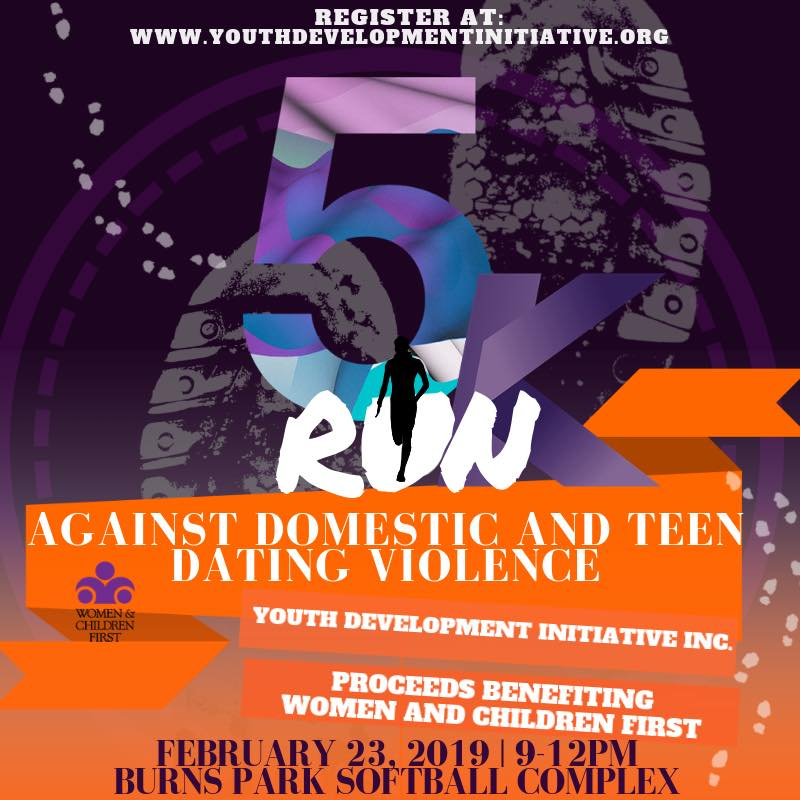 5K Run Against Domestic and Teen Dating Violence North Little Rock Arkansas