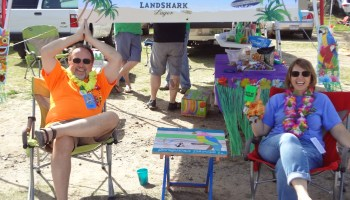 Just going with the flow: Jimmy Buffett party relocated