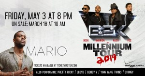 B2K and Mario Millennium Tour