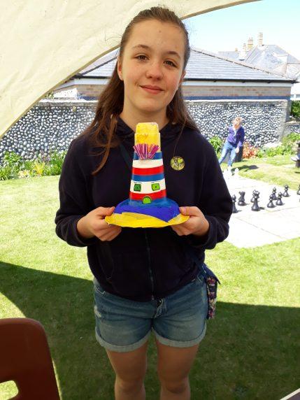 2018 Gardening festival - Lighthouse creation
