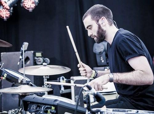 Muswell Hill drum teacher Joe Nicklin