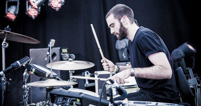 Joe playing live