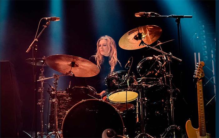 Sian Monaghan drum tutor