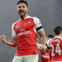 giroud celebrate arsenal