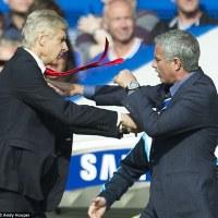 wenger pushes mourinho