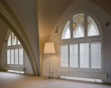 Special Shapes North London Shutters And Blinds