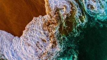 Drone-Sea Shot