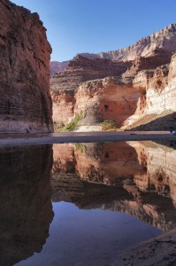 Canyon River Reflection