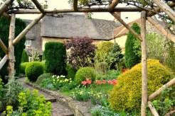 Winding Garden Path