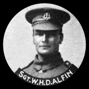 43807 Lance Sergeant William Henry Delisle Alfin MM