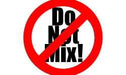 Do Not Mix