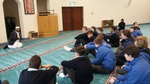 TY 2 visit the Mosque in Tramore Road, Cork