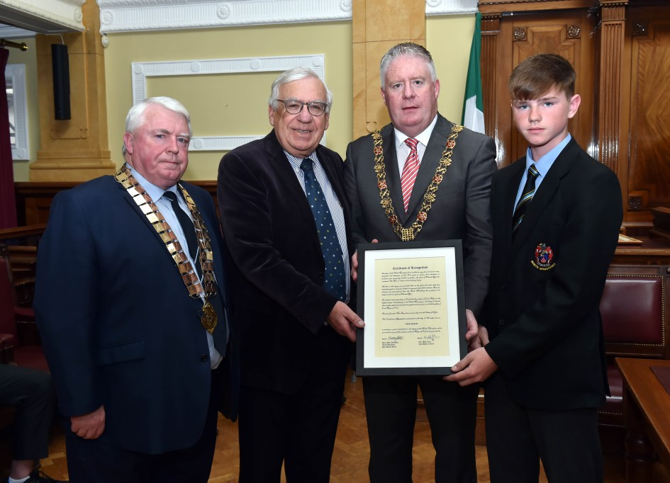 PPU Presentation to past Lord Mayor Paud Black, Fri 17th May 2019