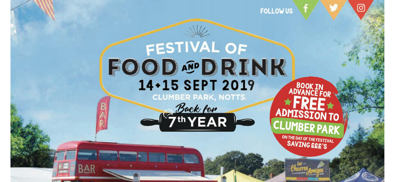 The Festival of Food and Drink in Nottinghamshires Clumber Park