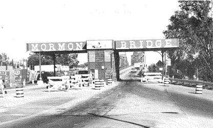 Mormon Bridge Tollboth, North Omaha, Nebraska