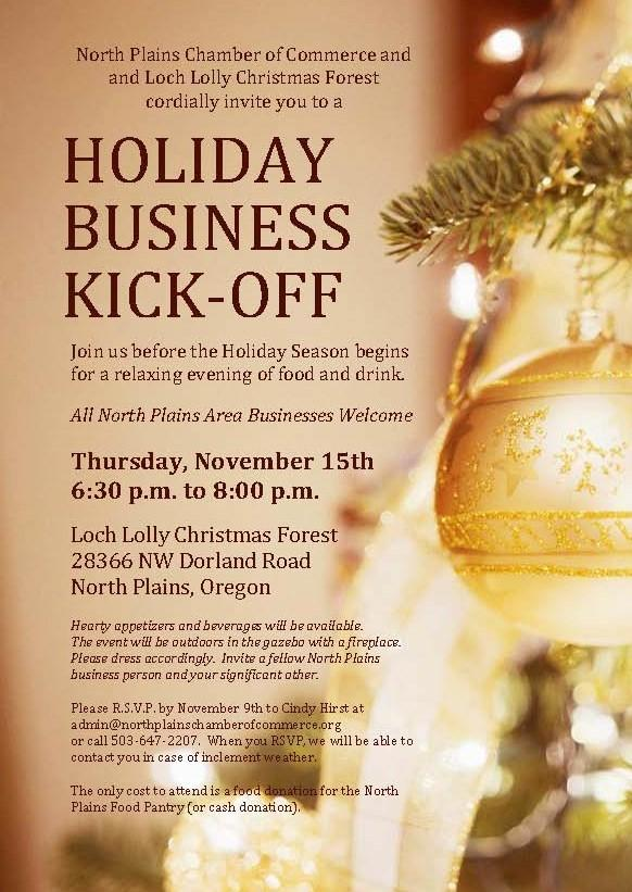 Chamber Holiday Business Kick-Off