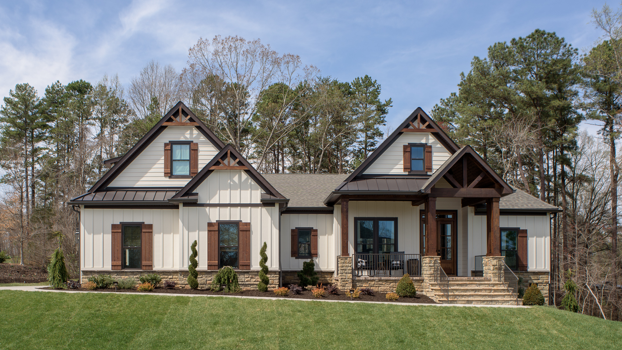 A Contemporary Craftsman North Point Custom Builders