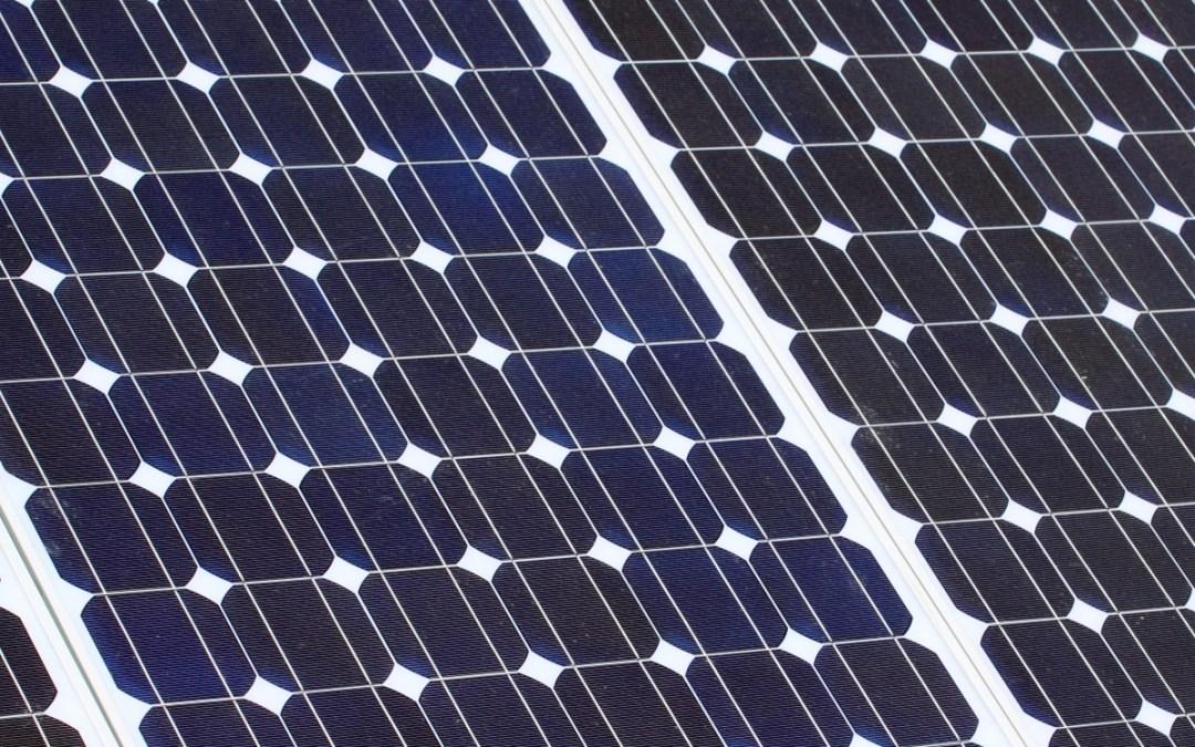 Solar Panel Update