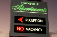 Townsville Apartments Pylon Sign