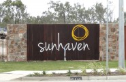 Stockland Northshore Sunhaven Entry Wall