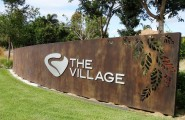 Aluminium Lettering for The Village