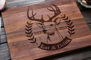 Lasered Cutting Board