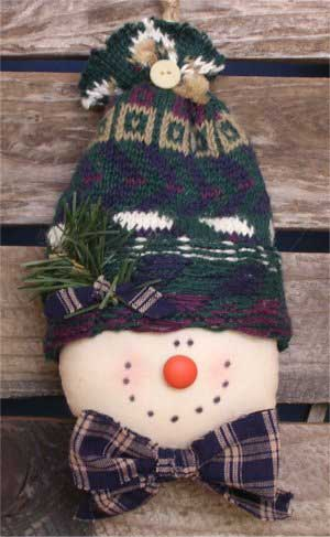 Snowman Sewing Pattern Clyde The Snowman