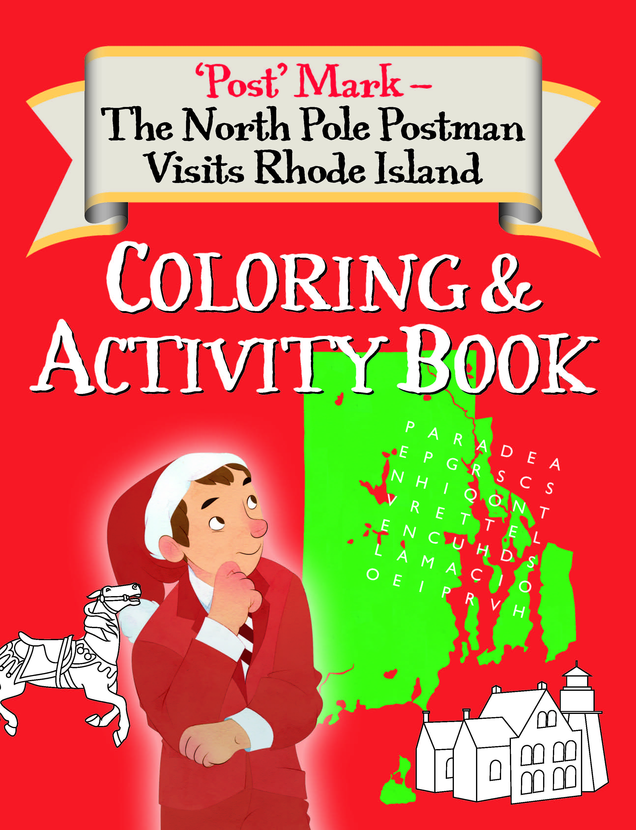Rhode Island Coloring And Activity Book