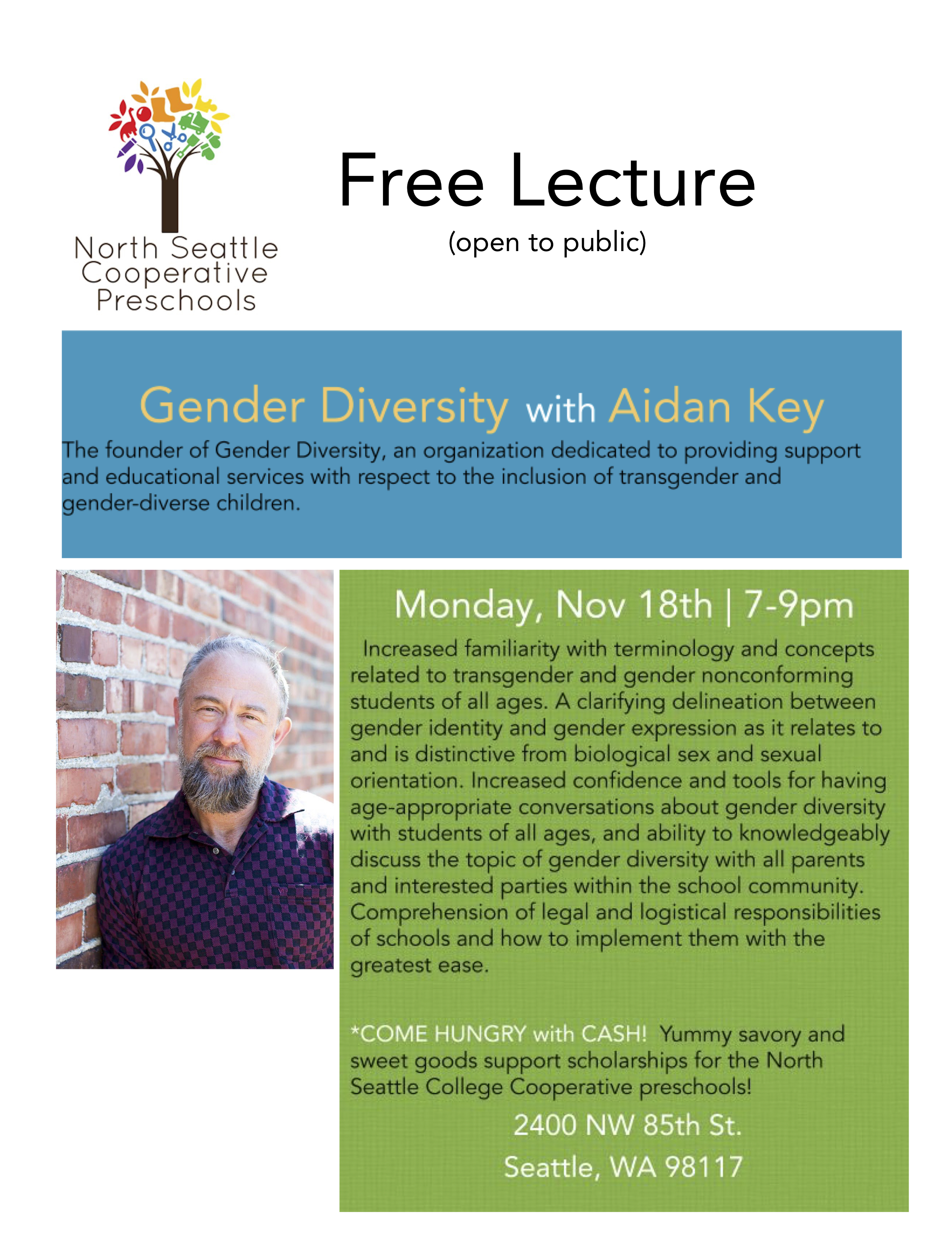 Free Fall Lecture Monday, Nov. 18