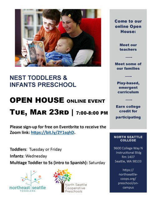 Infant and Toddler Open House