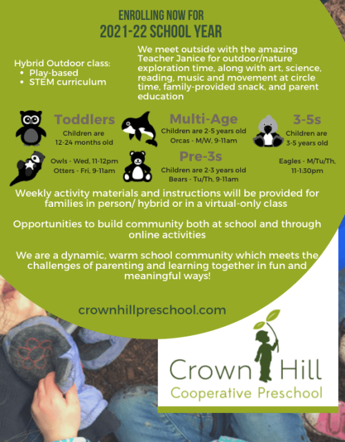Crown Hill Now Enrolling