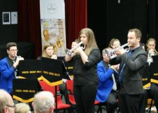 Harmen Vanhoorne and Megan Gooding performend the Flower Song from Lakme